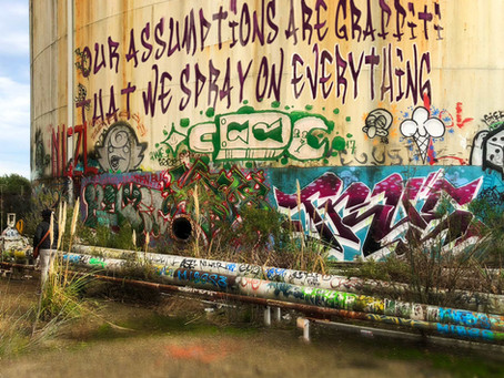 Our Assumptions are Grafitti