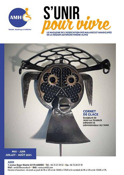 Couverture du Journal S'Unir pour Vivre n°2 de l'année 2021