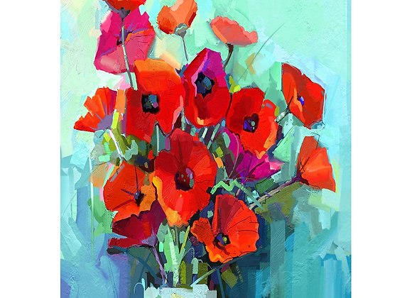 Poppies - A3