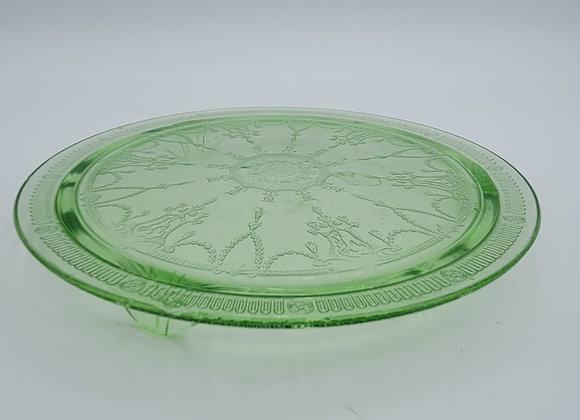 Depression Glass Serving Plate
