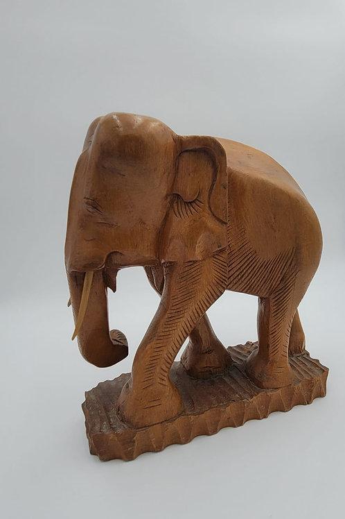 1960s Wooden Elephant