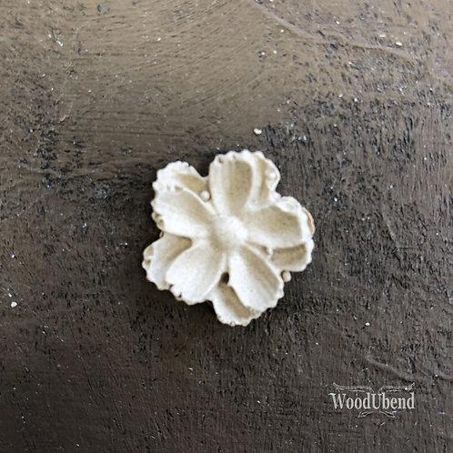Simple Five Petal Flower WUB0346 2.3cms