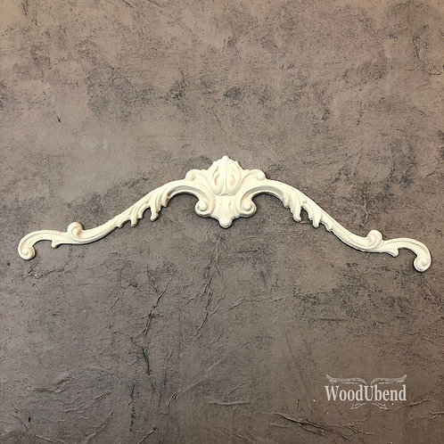 Pediment Pair WUB1213 34x6.2cms