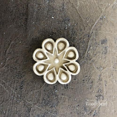 Geometric Flower WUB0334 2.5cms