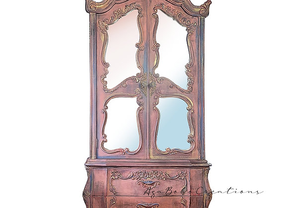 Victorian Mirror Armoire