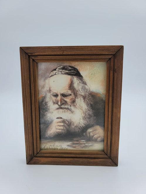 Pastel of Rabbi