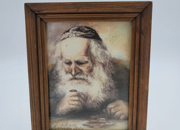Pastel of Rabbi