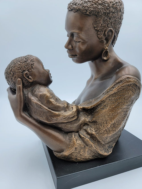 Statue of Mother and Child
