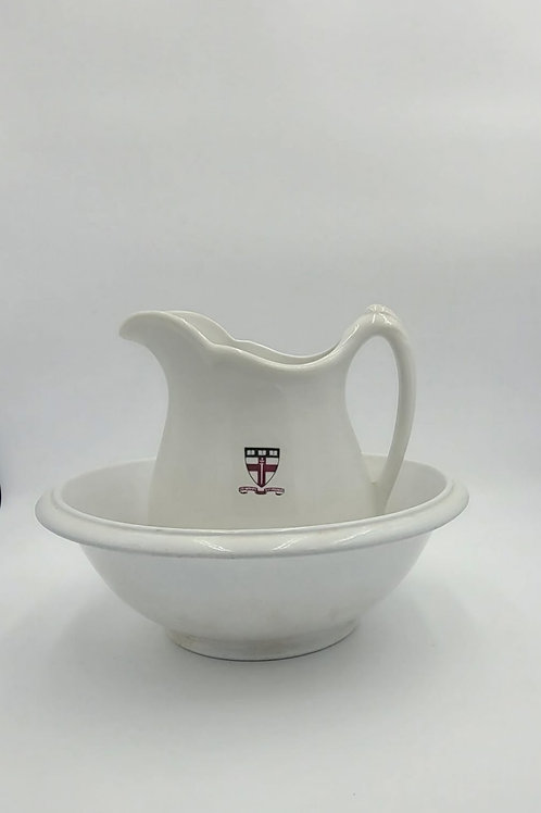 Mid Century Pitcher and Bowl