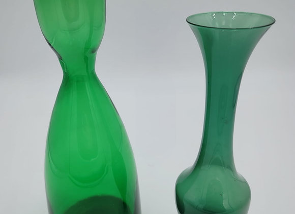 1970s Decanter and Vase