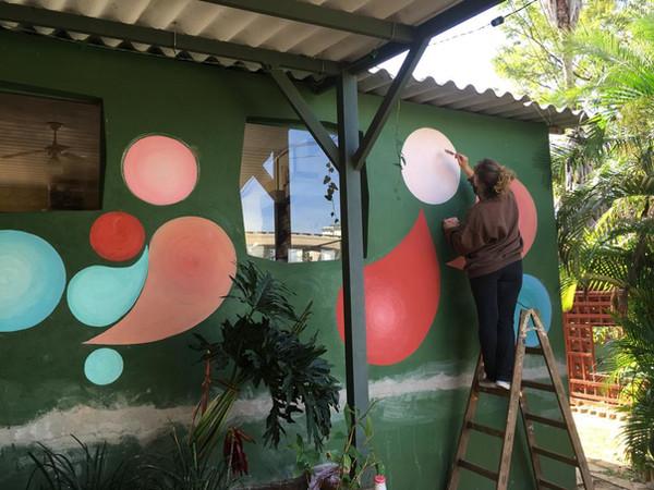 Pinturas em parede