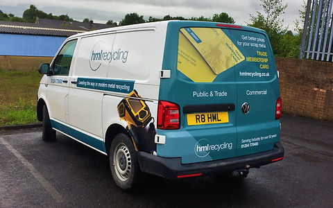 vehicle wrapping preston