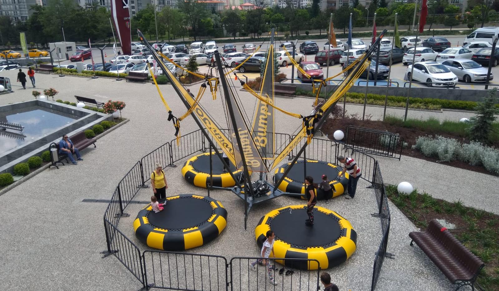 Yeni nesil salto trambolin