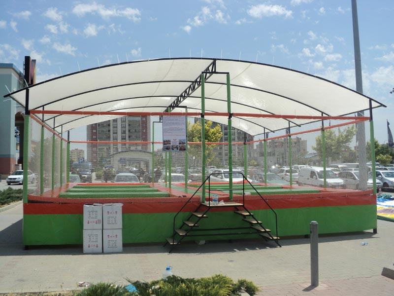 Sekizli Çatılı trambolin 2