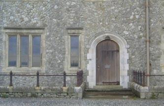 Doorway at Dover Castle