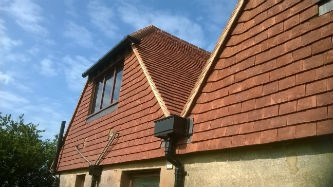 Close-up of Seven Sisters roof