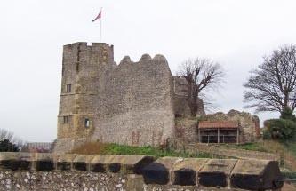 Lewes Castle exterior