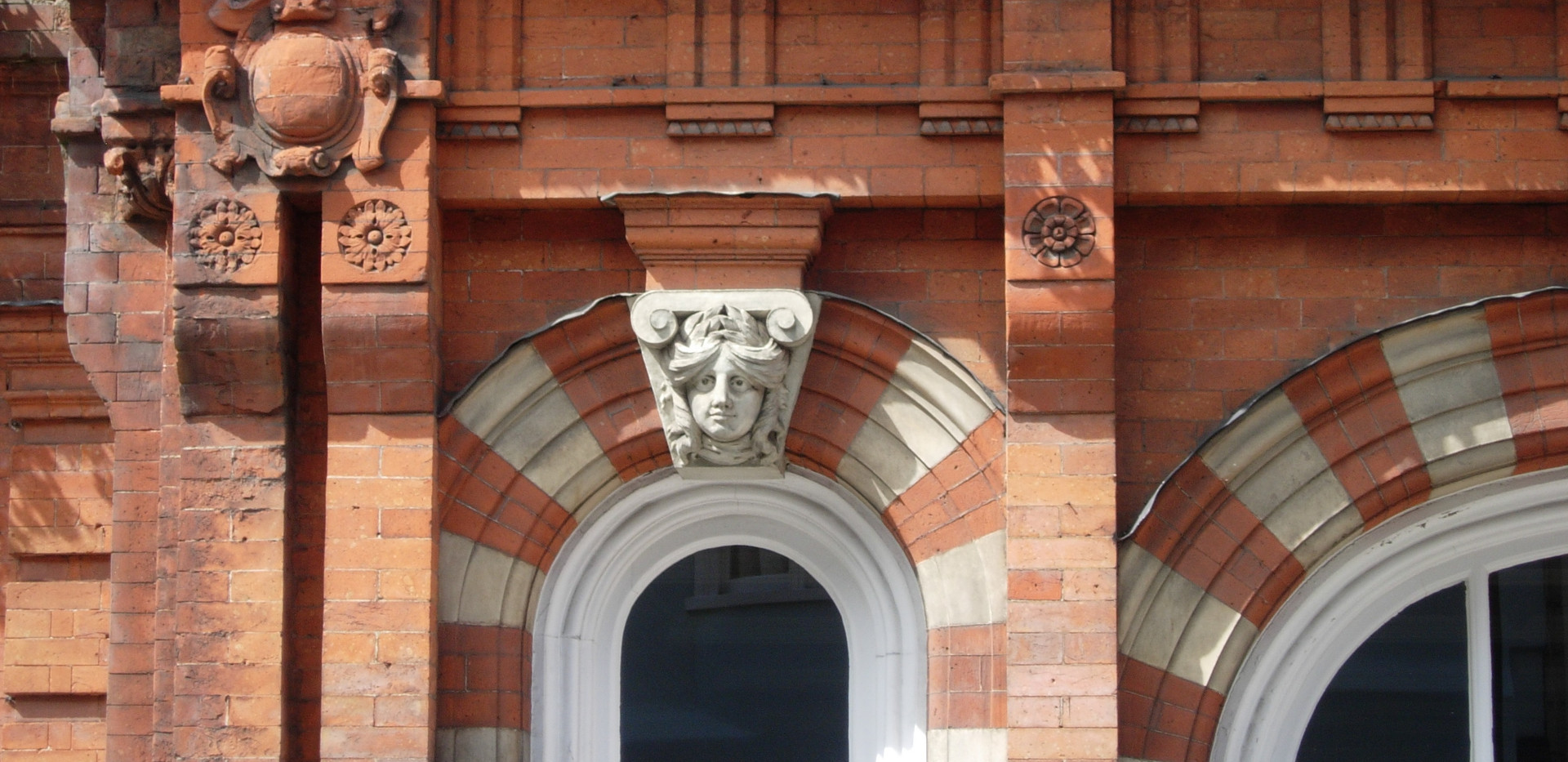 Close up of windows