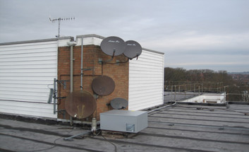 Park Royal roof
