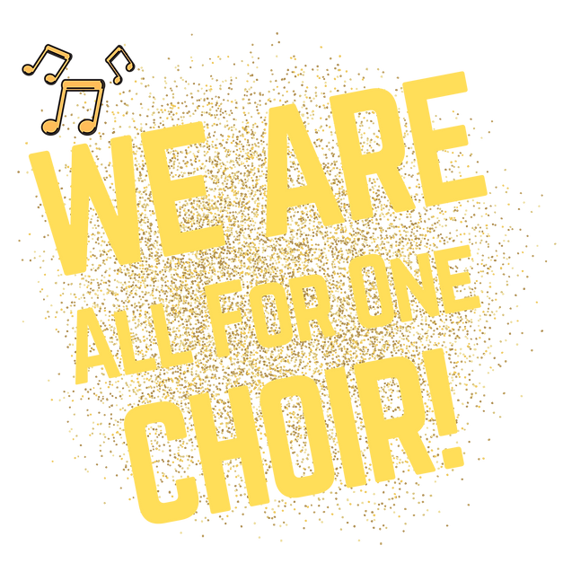 All For One choirs welcome image