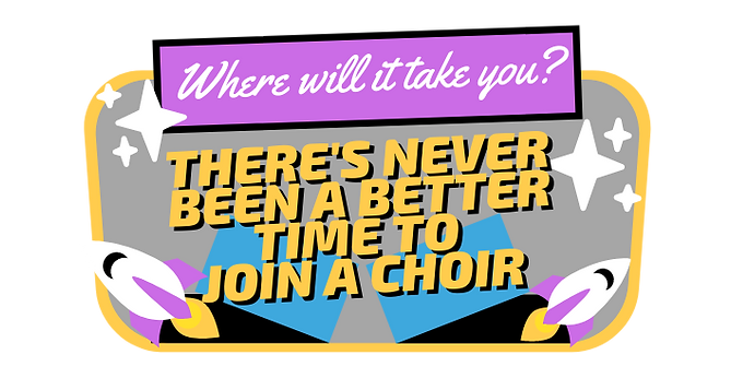 Theres never been a better time to join a choir AFO