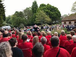 Thwaite Open Gardens with AFO Choir