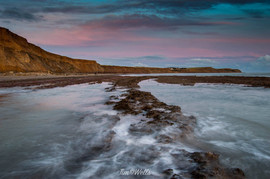 Compton bay is a lovely beach with outstanding sunsets