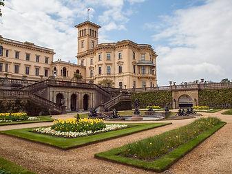 Osborne House and gardens