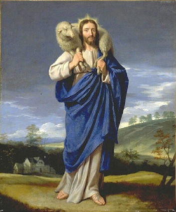 The Good Shepherd by Philippe de Champaigne, c. 1650