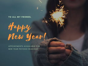 NEW YEAR - The Ideal Time To Get A Psychic Reading