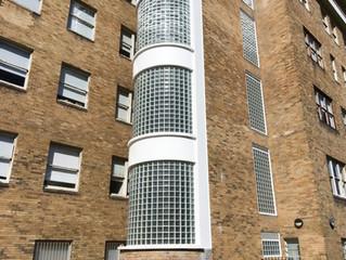 Heritage glass block restoration at RPA