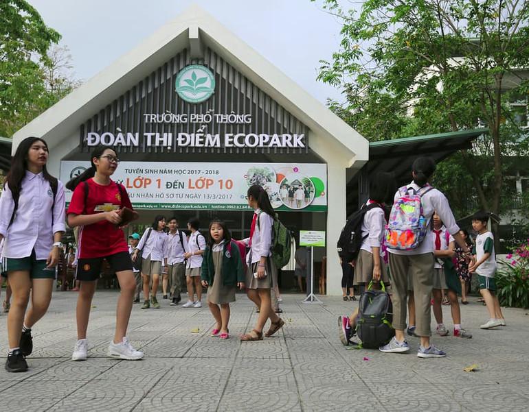 Hệ thống giáo dục hoàn chỉnh tại Ecopark