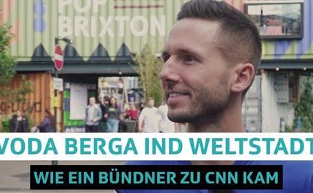 Swiss journalists in London - Ursin Caderas!