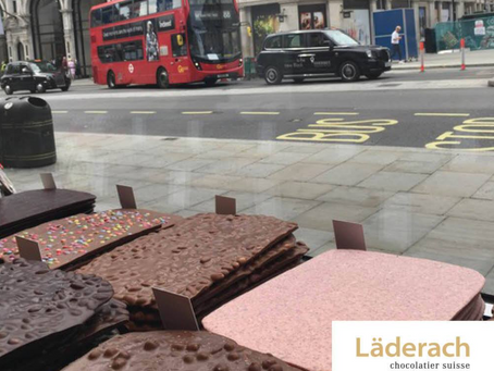 Läderach opens second London store!