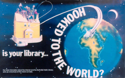 Library Internet Poster