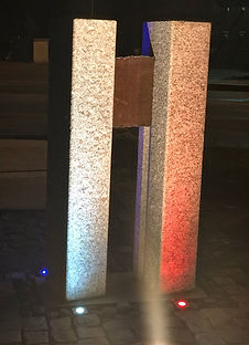 9-11 Memorial, Fire side
