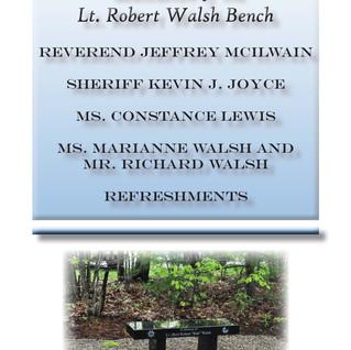 Lt. Walsh Memorial Program