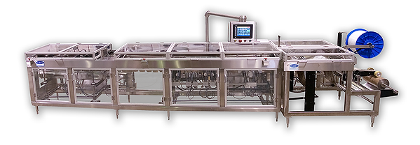 Bodolay Packaging's L80 Form Fill and Seal Washdown Machine