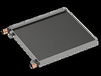 Microchannel condenser coil