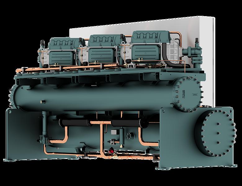 Wassergekühlter Turbocor-Kaltwassersatz