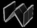 W-shaped microchannel condenser bank