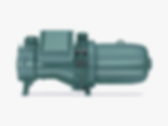 Compact screw compressor