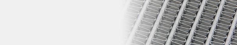 Hochleistungsfähige Lamellen mit Luftschlitzen