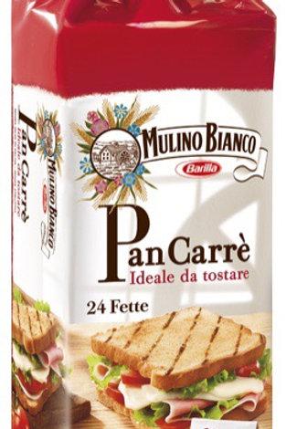 Mulino bianco pan carre' x24 430 gr