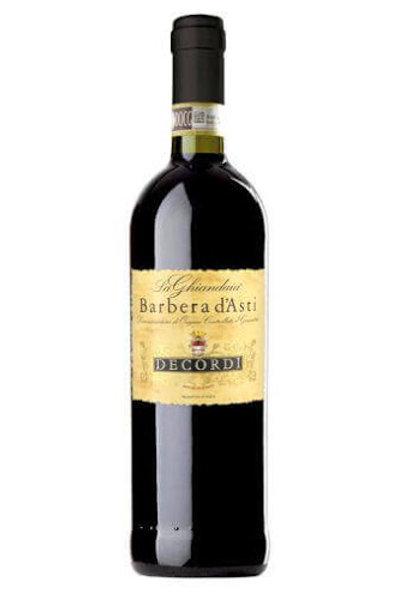 DECORDI BARBERA D'ASTI vino 750ml