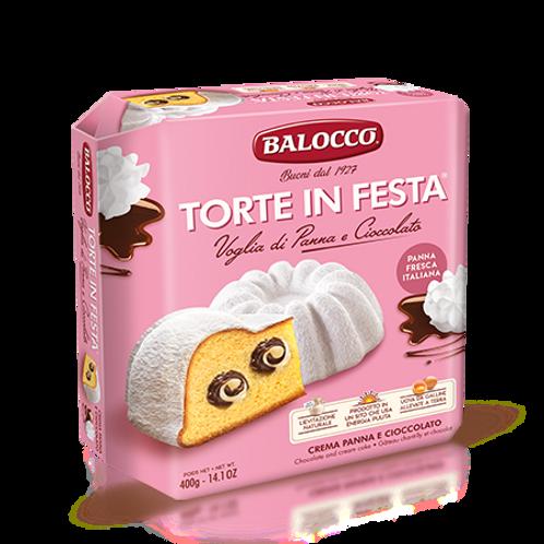 Balocco torta panna e cioccolato 400 gr