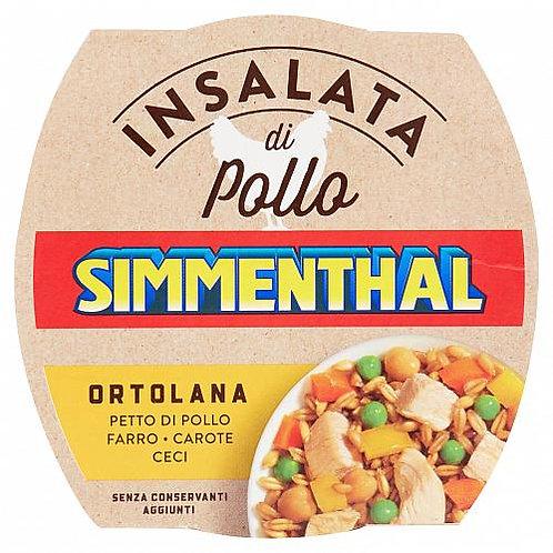 Simmenthal insalata pollo farro ortolana 160 gr Conserve di carne