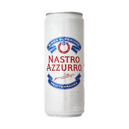 Nastro Azurro Birra Lattina cerveza 33cl