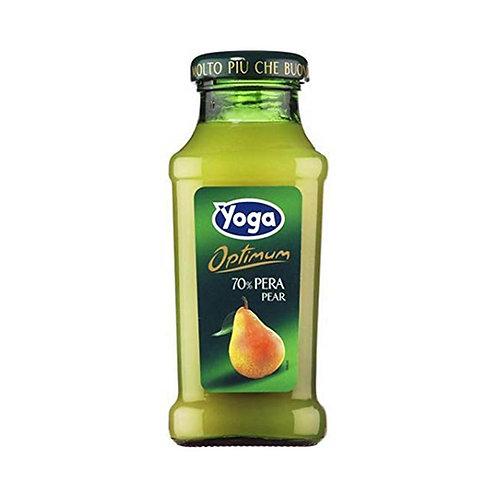 Yoga Succo Optimum 70% Pera zumo x1 200ml