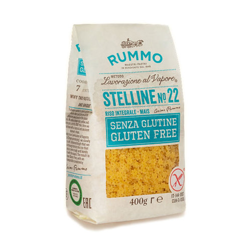 Rummo Sin gluten Stelline Nº22 400gr